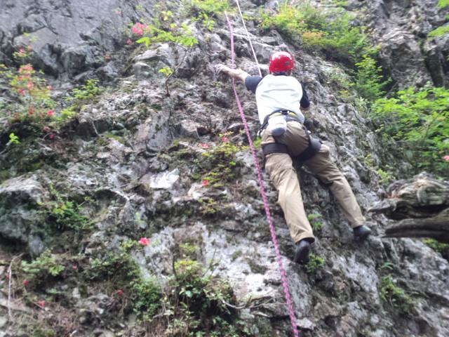 岩登り、また行っちゃいました!(6月23日)_f0101226_21484489.jpg