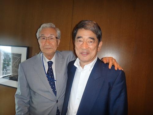 岡本行夫氏とランチ_b0084241_22381899.jpg