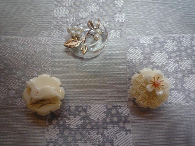刺繍の動物の帯留と、おしゃれな雪輪の着物と帯。_f0181251_10291746.jpg