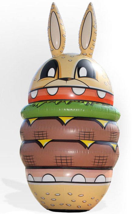 Burger Bunny Inflatable by Joe Ledbetter_e0118156_2054271.jpg