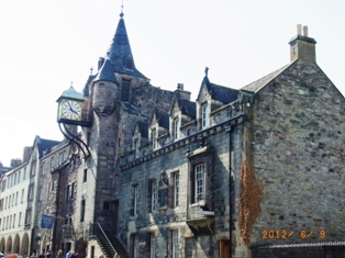 UK エディンバラ城とホリルードハウス宮殿_e0195766_505126.jpg