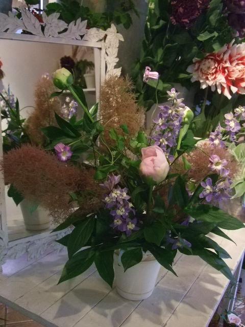 オークリーフ花の教室(加田さんの作品)_f0049672_1641963.jpg