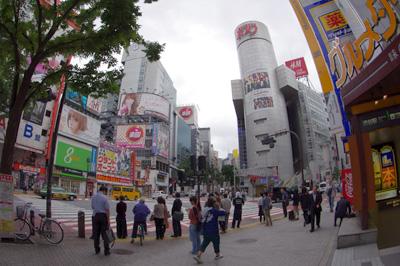 6月25日(月)今日の渋谷109前交差点_b0056983_11191763.jpg