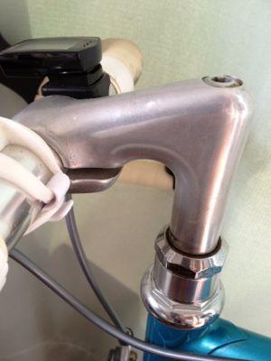 ハンドルステム : たまに自転車