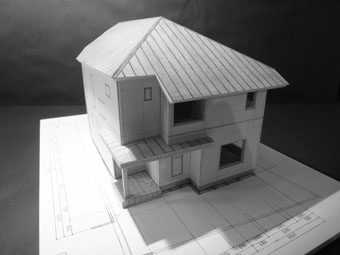 42・木造住宅の改修 「タブノキのある家」の検討模型 その1_c0195909_223148100.jpg