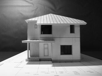 42・木造住宅の改修 「タブノキのある家」の検討模型 その1_c0195909_22321839.jpg