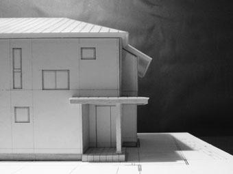 42・木造住宅の改修 「タブノキのある家」の検討模型 その1_c0195909_22323650.jpg