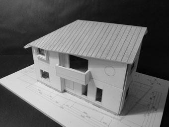 42・木造住宅の改修 「タブノキのある家」の検討模型 その1_c0195909_22325449.jpg