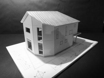 42・木造住宅の改修 「タブノキのある家」の検討模型 その1_c0195909_22331755.jpg