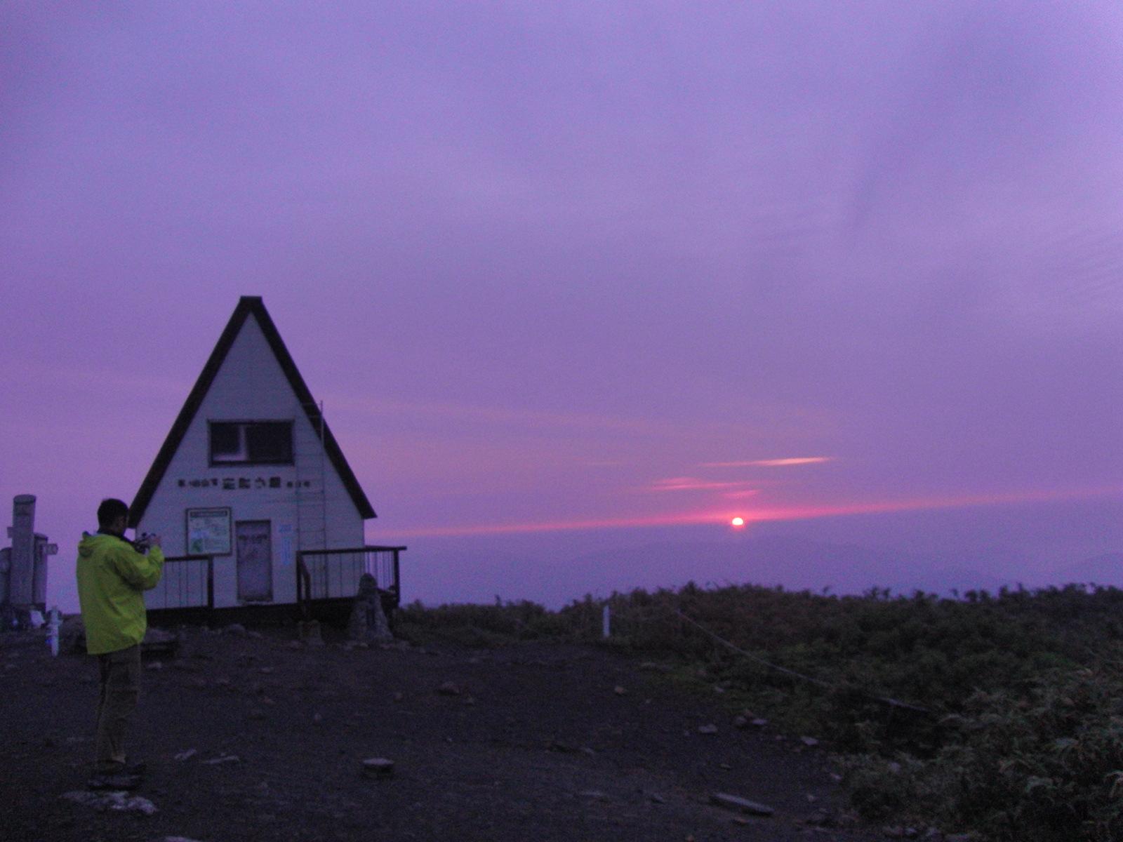氷ノ山、ご来光登山! (6月24日)_f0101226_1434481.jpg