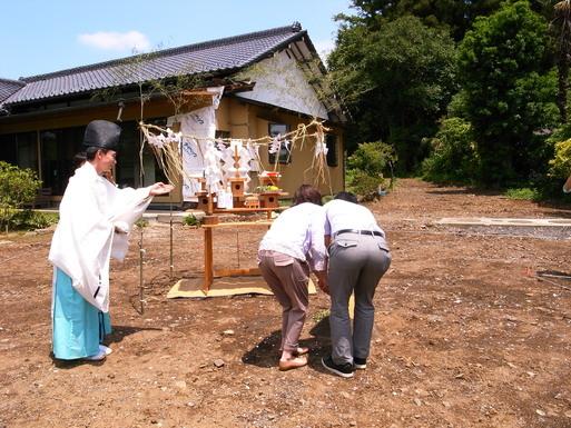 KDさんの家 地鎮祭 2012/6/24_a0039934_17522121.jpg
