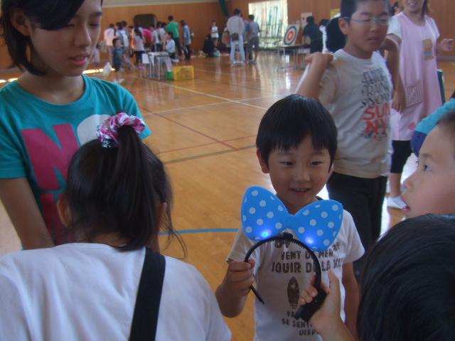 二田小学校へリサイクルショップに参加_d0166047_21314867.jpg