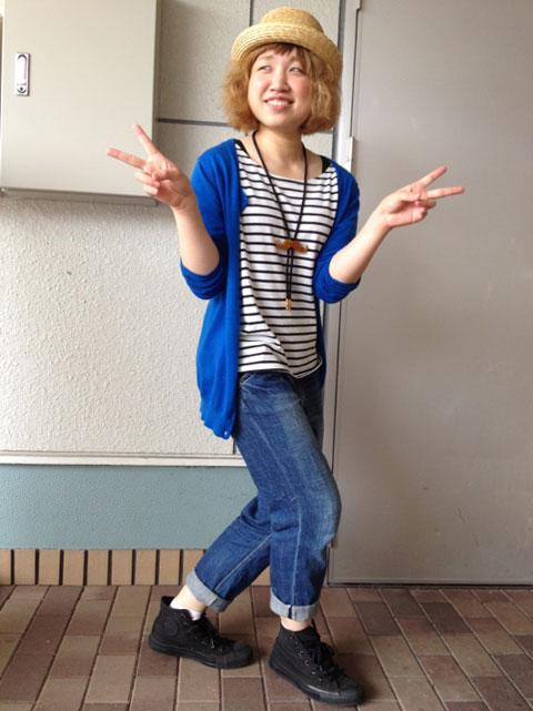 【高の原店レセプショニスト高田】2012年6月おしゃれNO.1_c0080367_20234098.jpg