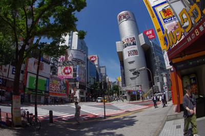 6月26日(火)今日の渋谷109前交差点_b0056983_11342016.jpg