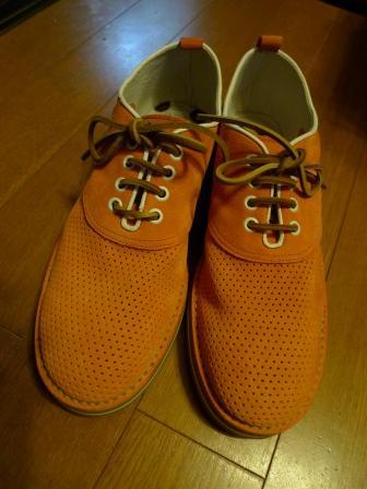 夏のスエード靴_d0166598_112454.jpg