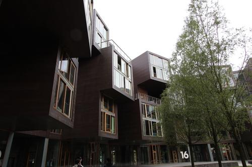 12北欧研修:コペンの再開発オレスタッド・シティー3ティツゲン学生寮_e0054299_9141349.jpg