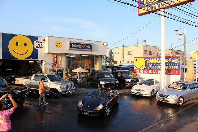 輸入車コーナー タンドラ、インフィニティQX56、ベンツS、SL、ポルシェボクスター_b0127002_20513119.jpg