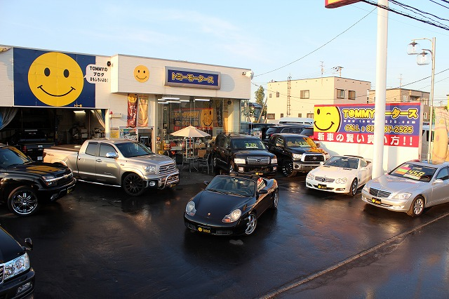 輸入車コーナー タンドラ、インフィニティQX56、ベンツS、SL、ポルシェボクスター_b0127002_20552521.jpg