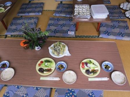 「金時草」試食会開催しました。_e0102418_15421238.jpg
