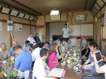 「金時草」試食会開催しました。_e0102418_15423752.jpg