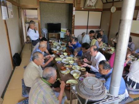 「金時草」試食会開催しました。_e0102418_15425898.jpg
