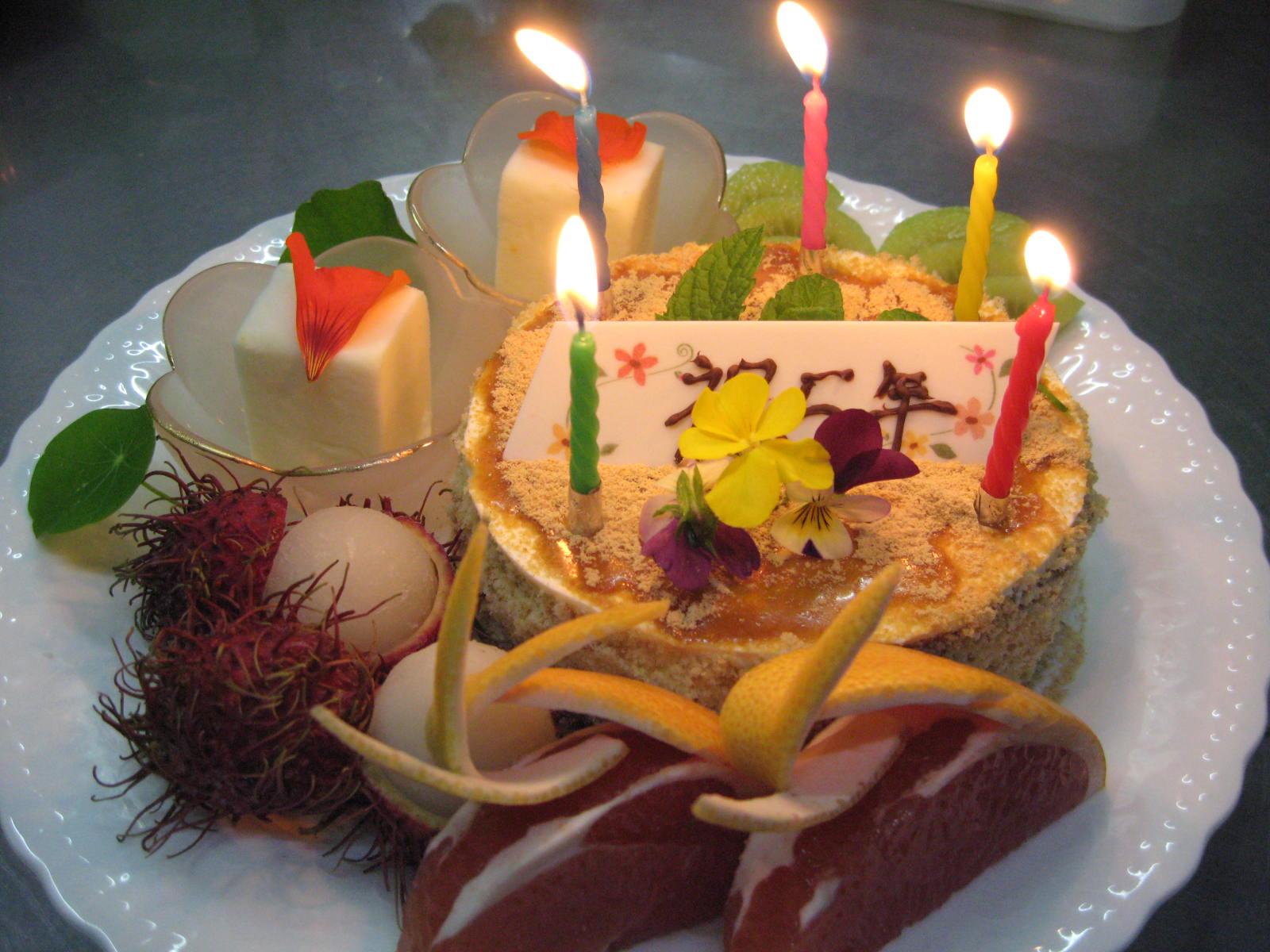 お祝いのケーキ_f0146620_22315656.jpg