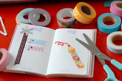LALA PHOTO手帳にマステを使ったアイディア集!_d0189735_12403493.jpg