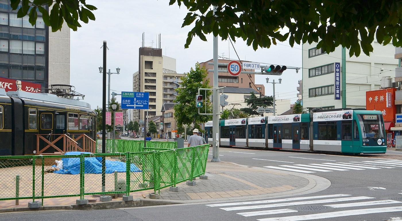 広電電車レストラン設置工事_a0251146_19272442.jpg