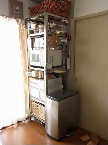 【 業務用キッチンラックを家庭で活用 】_c0199166_18101361.jpg