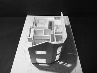 43・木造住宅の改修 「タブノキのある家」の検討模型 その2_c0195909_9214517.jpg