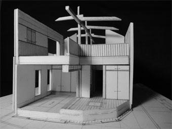 43・木造住宅の改修 「タブノキのある家」の検討模型 その2_c0195909_92201.jpg
