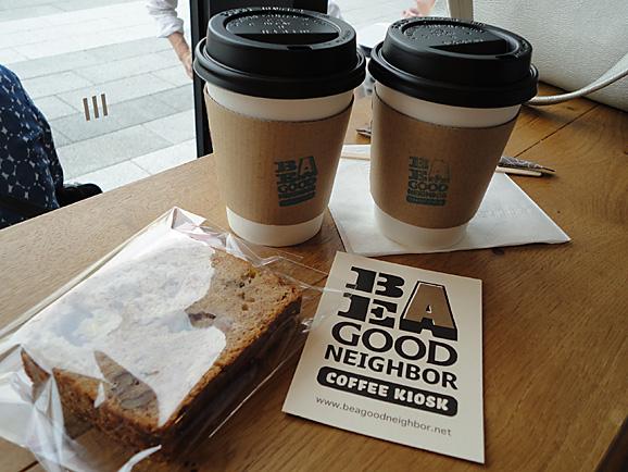 BE A GOOD NEIGHBOR  COFFEE KIOSK@ソラマチ_e0230011_17295054.jpg