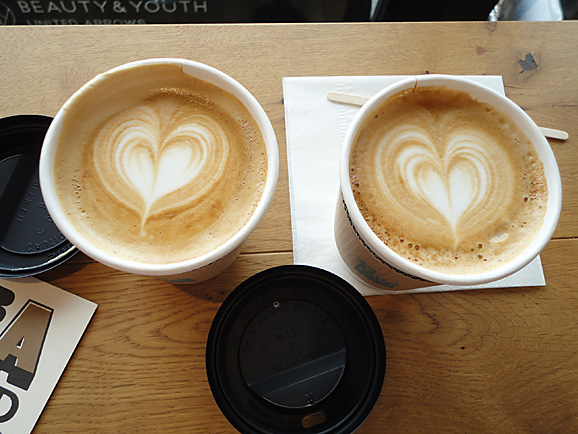 BE A GOOD NEIGHBOR  COFFEE KIOSK@ソラマチ_e0230011_1731548.jpg