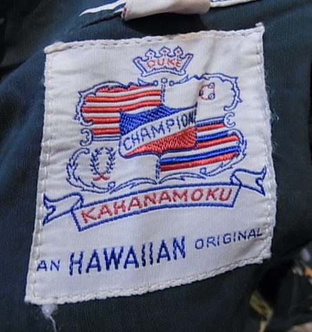 6/30(土)入荷商品! 50'SDUKE KAHANAMOKU ハワイアンシャツ_c0144020_14434535.jpg