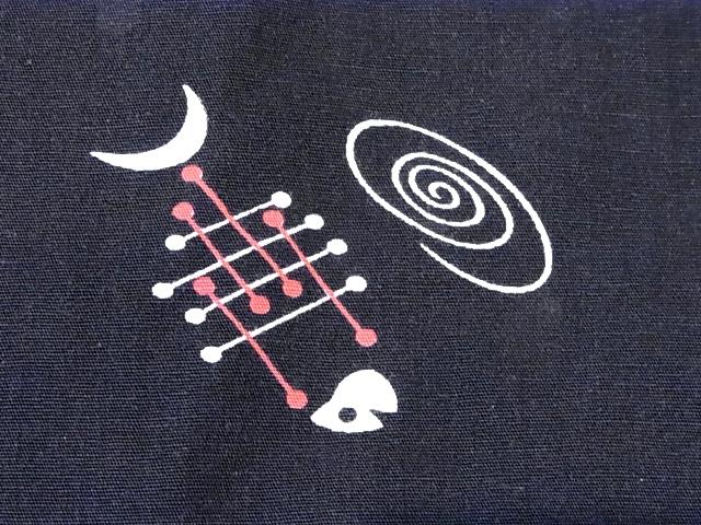 6/30(土)入荷商品! 50'Sジャンセン FISH柄 クロベースコットンシャツ!_c0144020_1450384.jpg