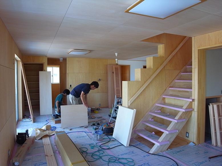 三反田の家 建具工事 2012/6/29_a0039934_17325635.jpg