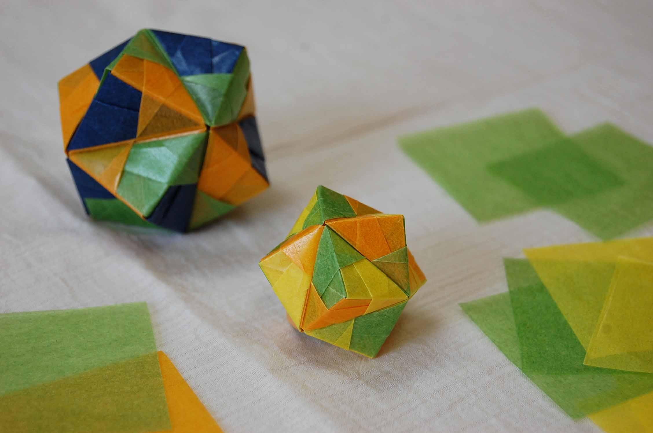 すべての折り紙 手作り折り紙 : ... を見ながらよく折り紙したな