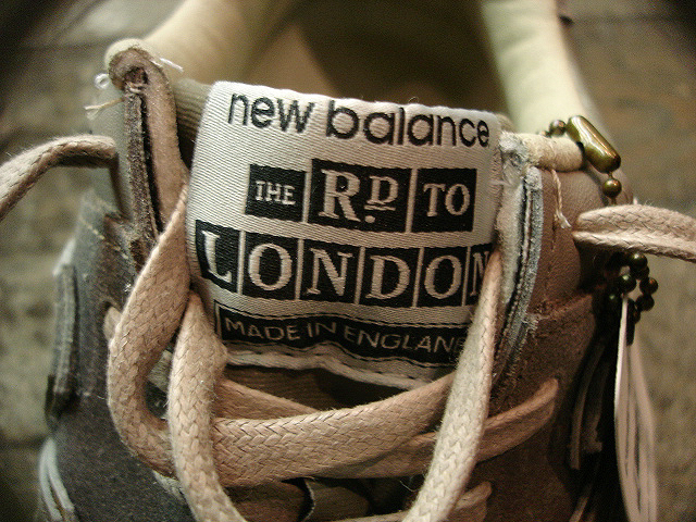"NEW : new balance [M576] Made in England ""THE ROAD TO LONDON\"" !!_a0132147_21434699.jpg"