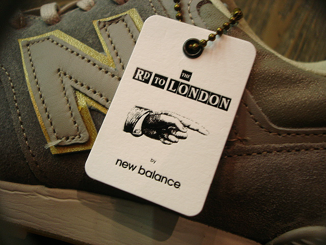 "NEW : new balance [M576] Made in England ""THE ROAD TO LONDON\"" !!_a0132147_21453870.jpg"