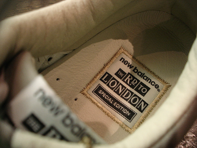"NEW : new balance [M576] Made in England ""THE ROAD TO LONDON\"" !!_a0132147_228423.jpg"