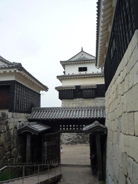 お城の帯に導かれて?松山城へ。_f0181251_1633130.jpg