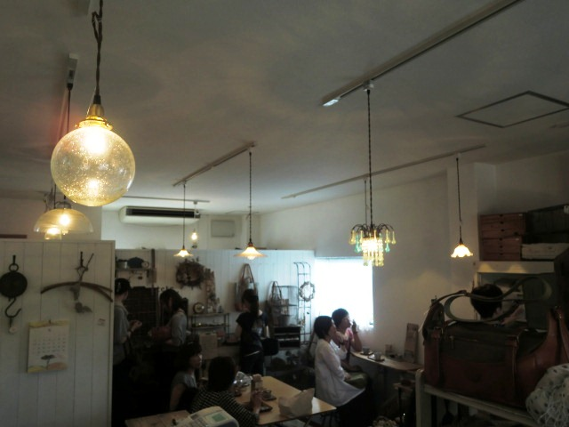 本日の one day cafe。_a0164280_0401744.jpg