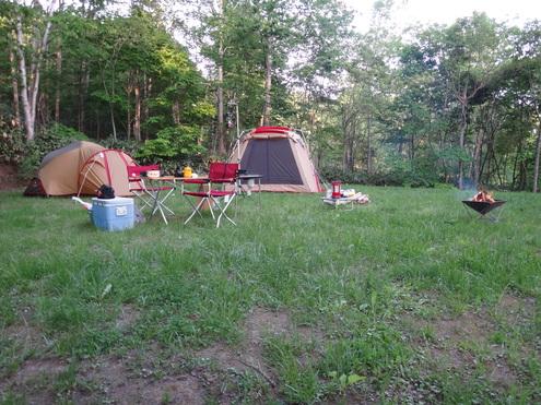 キャンプレポート 羊蹄山自然公園真狩キャンプ場 _d0198793_1614223.jpg