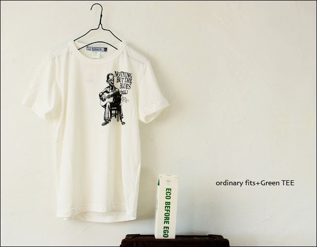 ordinary fits+Green TEE [オーディナリー フィッツ+グリーンティー]Organic Print Tee Blues [OR-PT-005] _f0051306_19312088.jpg