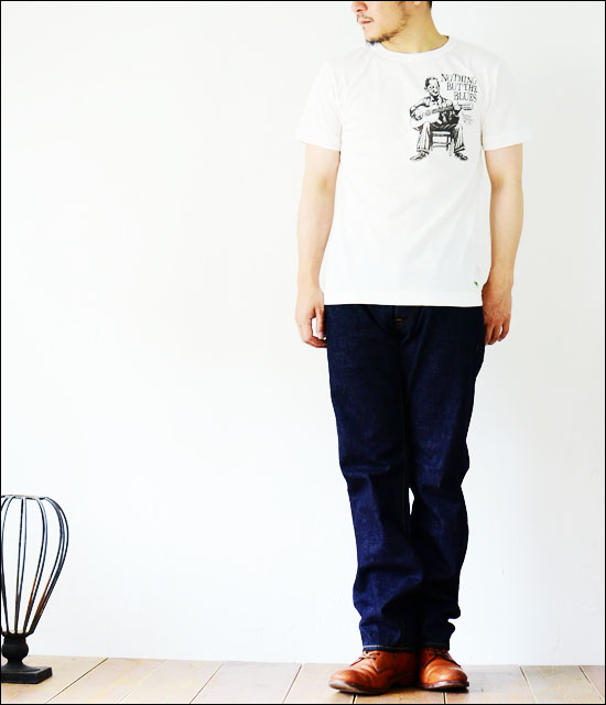 ordinary fits+Green TEE [オーディナリー フィッツ+グリーンティー]Organic Print Tee Blues [OR-PT-005] _f0051306_19312337.jpg