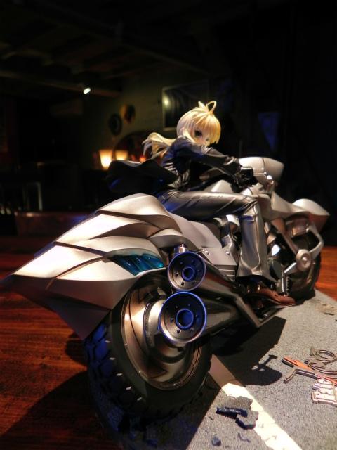 Fate/Zero セイバー&セイバー・モータード・キュイラッシェ_c0057415_12383182.jpg