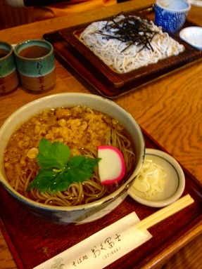 「おく富士」の蕎麦_b0150120_19434240.jpg