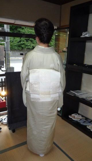 北九州からのお客様と単衣の装い2パターン。_f0181251_1705956.jpg