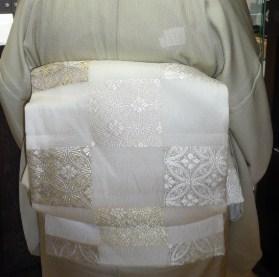 北九州からのお客様と単衣の装い2パターン。_f0181251_1712929.jpg