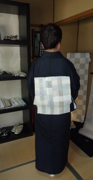 北九州からのお客様と単衣の装い2パターン。_f0181251_1743378.jpg